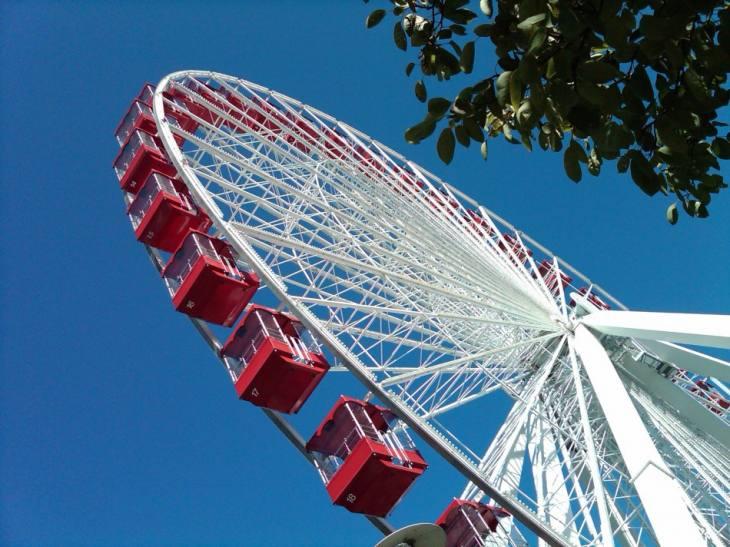 Navy Pier Chicago Ferris Wheel