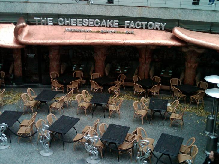 The Cheesecake Factory, Chicago
