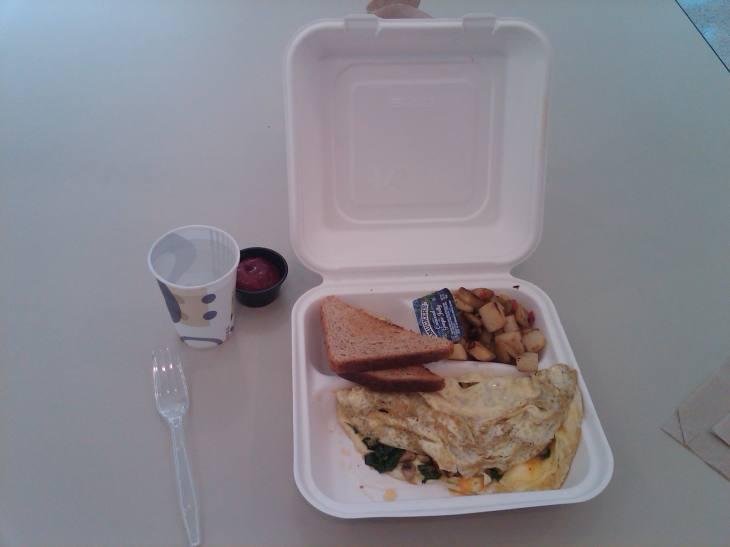 Loyola North Shore Cafeteria Breakfast