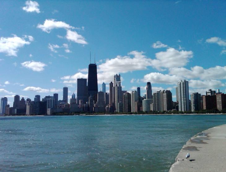 Chicago Panoramic City View