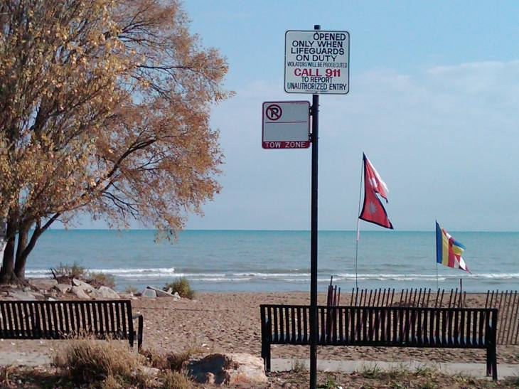 Peaceful Tow Zone Area, Chicago