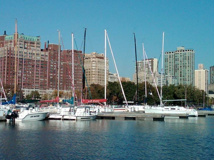 Belmont Harbor, Chicago, 2010
