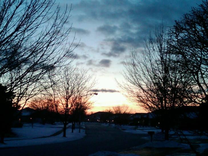 Sunrise Tinley Park, Illinois, 1.16.11