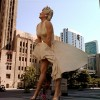 The Famous &#8216;Seven Year Itch&#8217; Pose:  26-Foot Tall Marilyn Monroe Sculpture, Chicago (7.29.11)