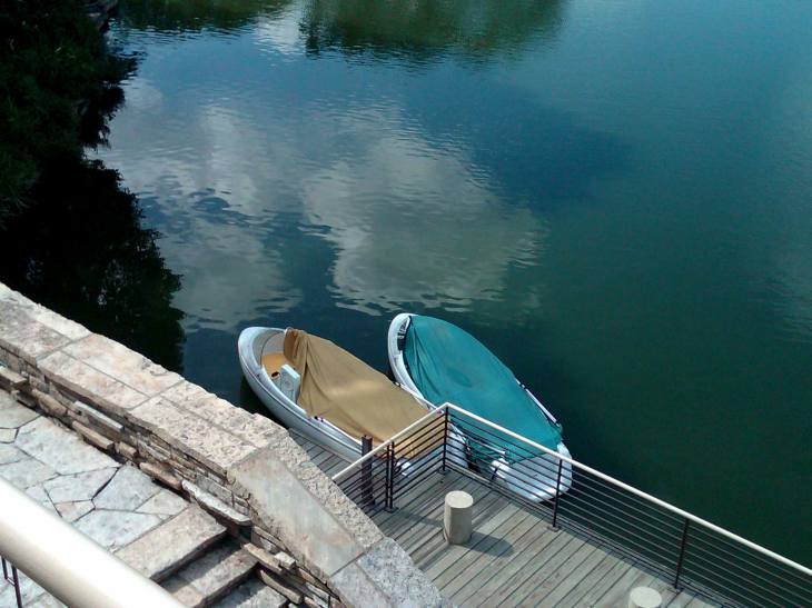 Beautiful Boats:  McDonald's Hamburger University, Oakbrook, Illinois (8.4.11)
