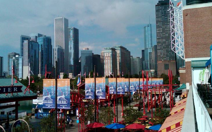 A Perfect View of Chicago From Navy Pier, 8.27.11