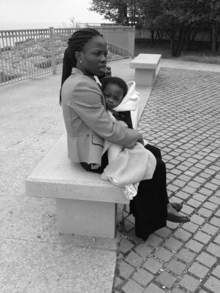 Woman and Child (Loyola University) 2015